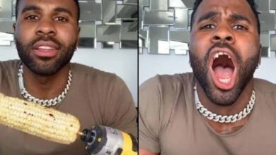 Photo of TikTok Challenge gone wrong: Jason Derulo breaks front teeth