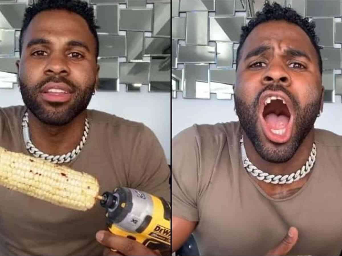 TikTok Challenge gone wrong: Jason Derulo breaks front teeth