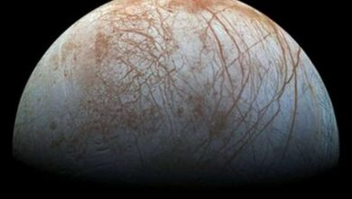 Photo of Jupiter's moon Europa: New evidence of watery plumes