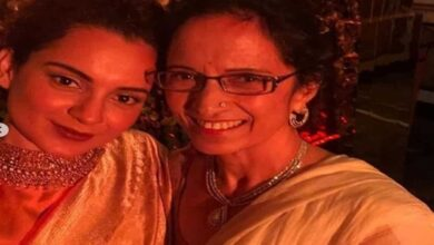 Photo of Kangana Ranaut pens poem for mother