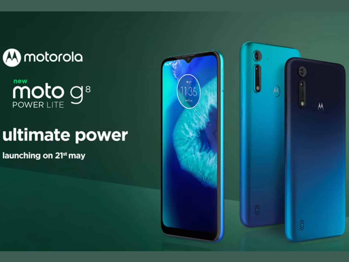 Moto G8 Power Lite with 5000mAh battery in India for Rs 8,999