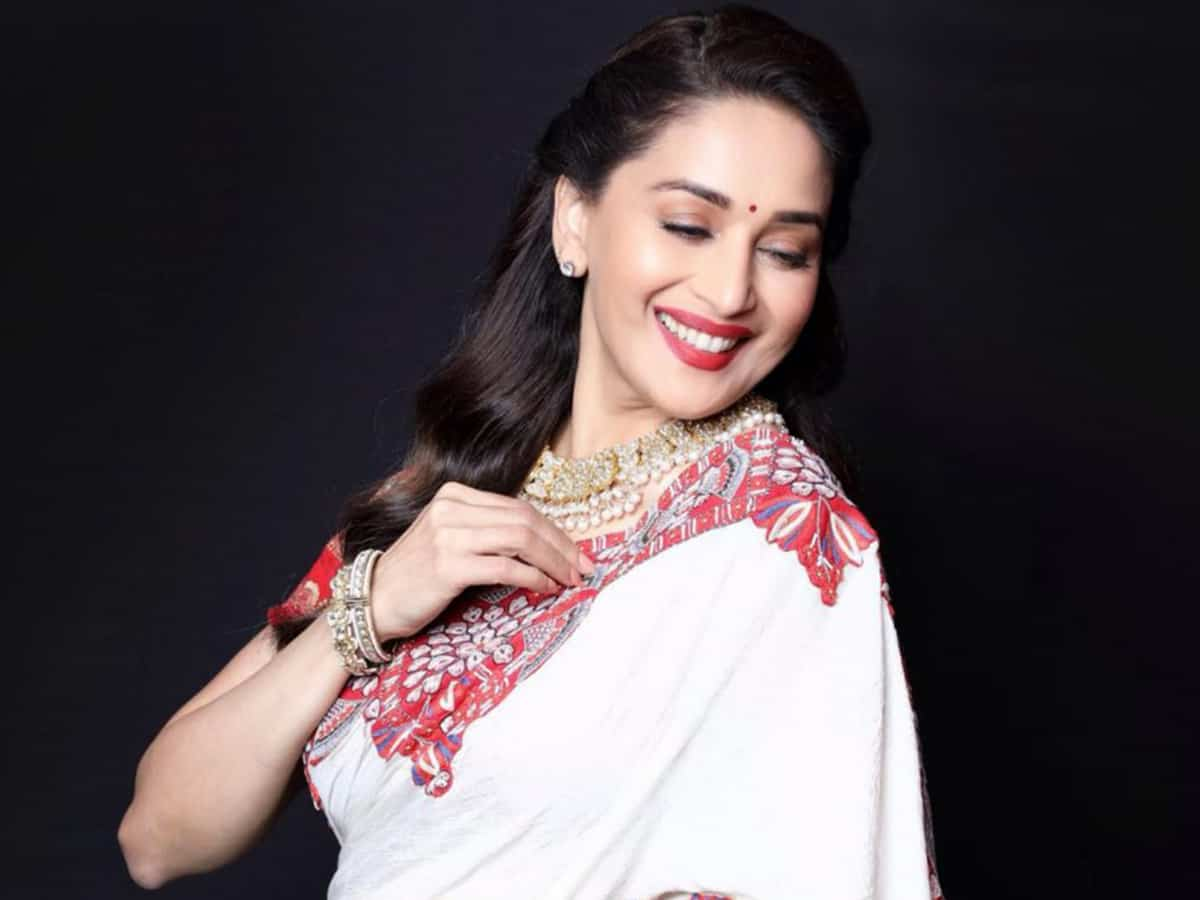 Bollywood diva Madhuri Dixit turns 53, wishes pour in from b-tow