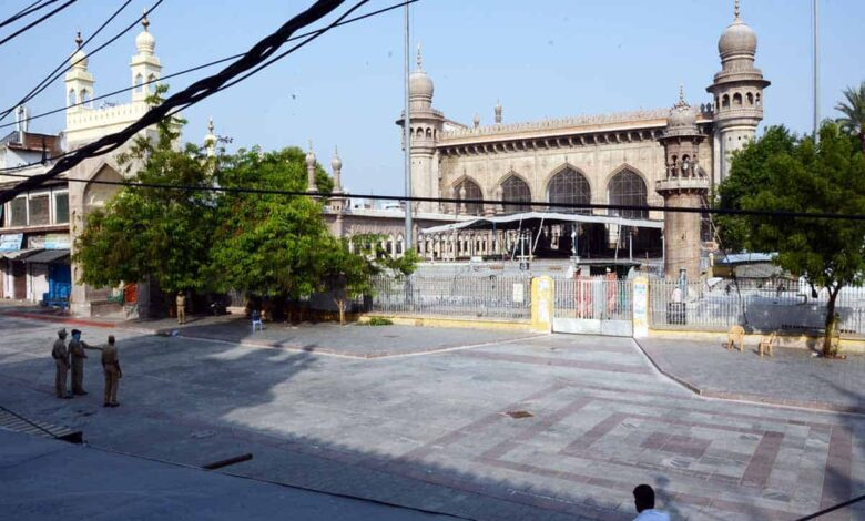 No Eid prayers offered at Eidgahs, major mosques in Hyderabad