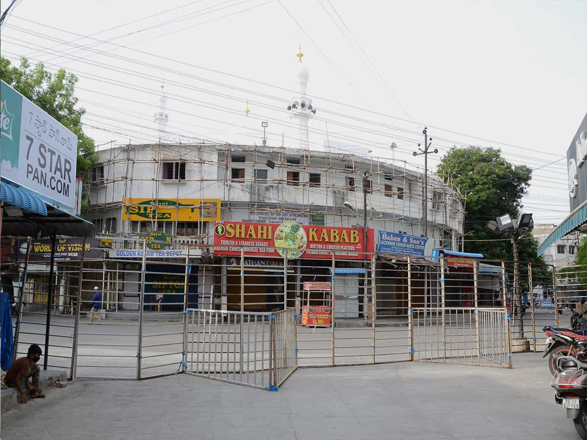 Photos: Shops open for business in Mallepally