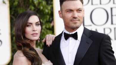 Photo of Megan Fox first dumped Brian Austin Green while he was bedridden
