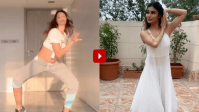 Photo of After Nora Fatehi's video, dance moves of Mouni Roy go viral
