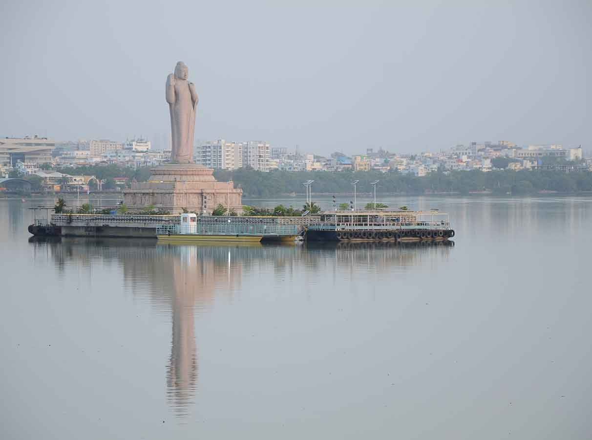 Hussain Sagar is not polluted: TS Pollution Control Board