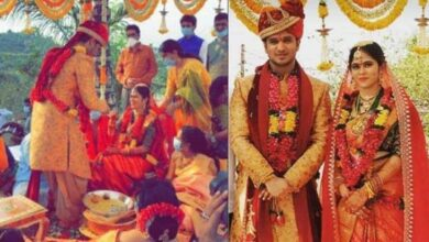 Photo of Actor Nikhil Siddhartha gets married amid COVID-19 lockdown