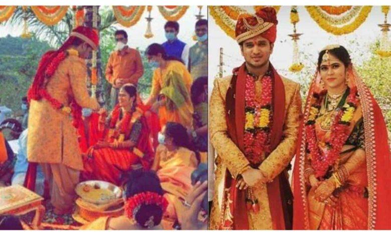 Actor Nikhil Siddhartha gets married amid COVID-19 lockdown