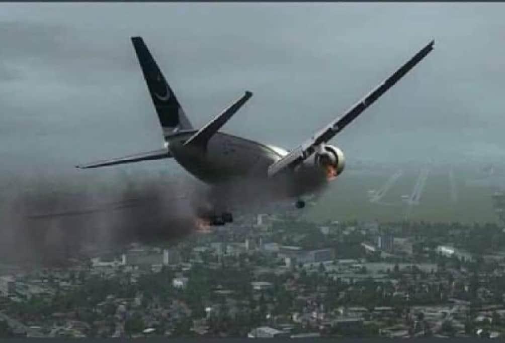 PIA Pakistan crashes