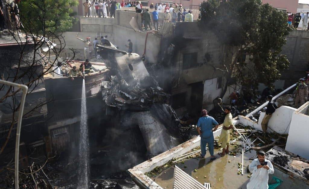 pakistan plane crash karachi