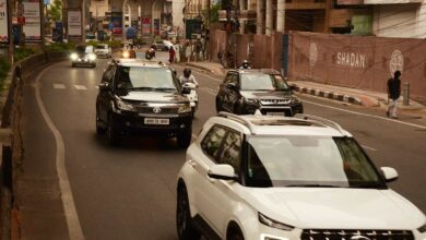 Photo of Post lockdown relaxation, Hyderabad buzz back with vehicles