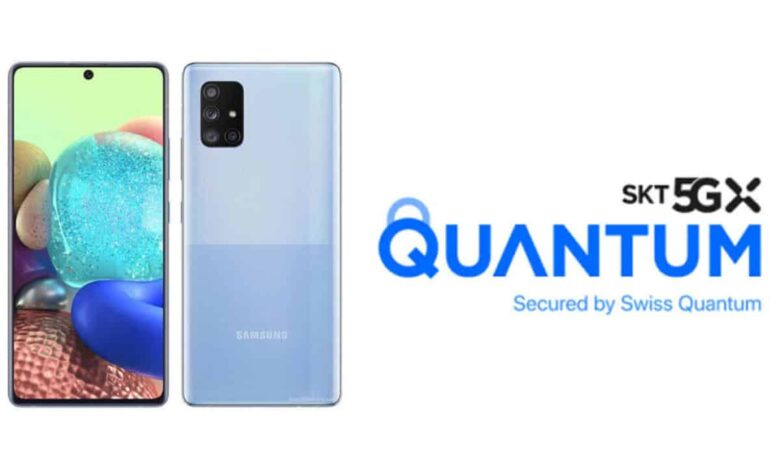 Samsung unveils 5G smartphone with quantum-safe crypto solution