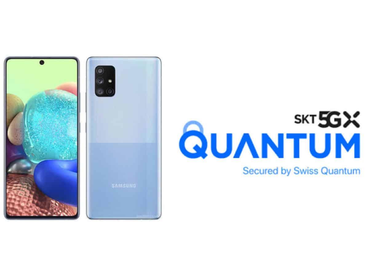 Samsung unveils 5G smartphone with quantum-safe crypto solution