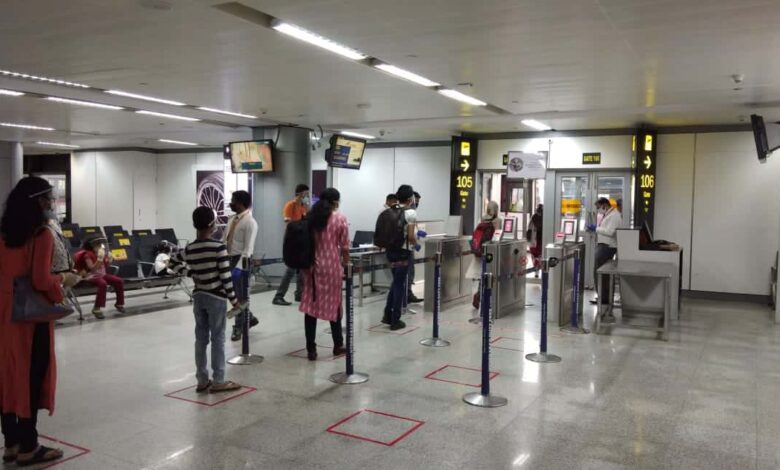 3500 fliers operate from Hyderabad airport on Day 3