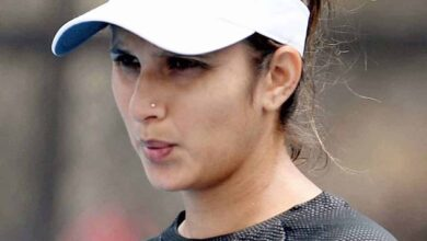 Photo of Sania Mirza nominated for Fed Cup Heart Award