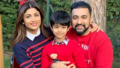 Photo of Shilpa Shetty Kundra's son Viaan aces backflip in new post