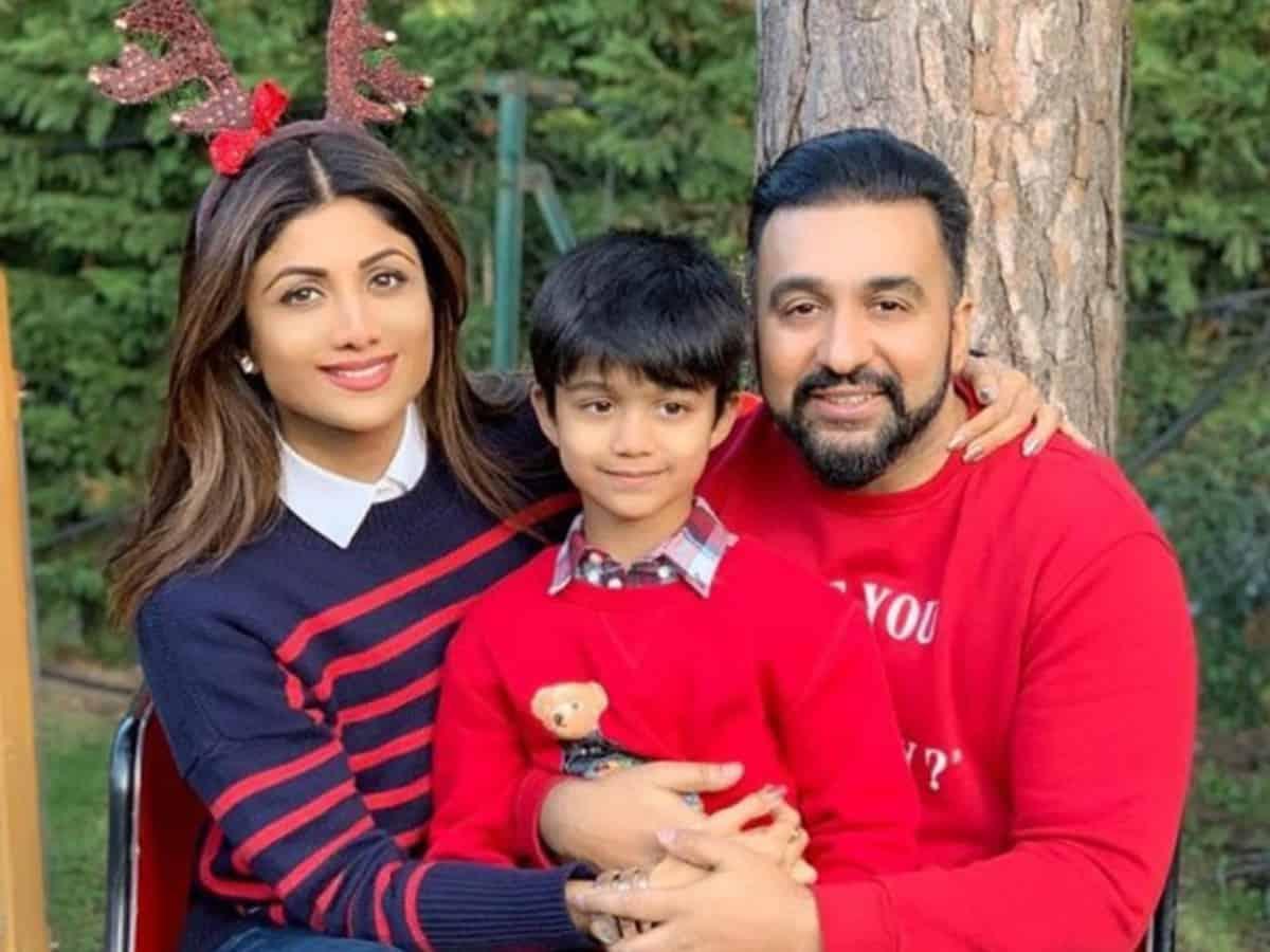 Shilpa Shetty Kundra's son Viaan aces backflip in new post