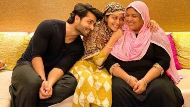 Photo of Shoaib shuts troll asking wife Dipika's salwar suit look