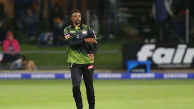 Photo of South African cricketer Solo Nqweni contracts COVID-19