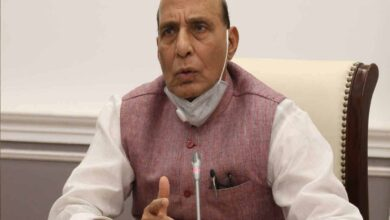 Photo of Defence Minister Rajnath attends Victory Day Parade in Russia
