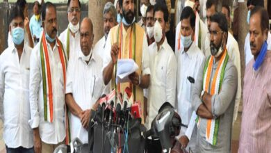 Photo of Congress demands KRMB against AP Govt over Pothyreddypadu issue
