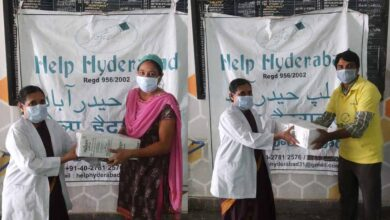 Photo of Help Hyderabad presents meal boxes to COVID-19 warriors