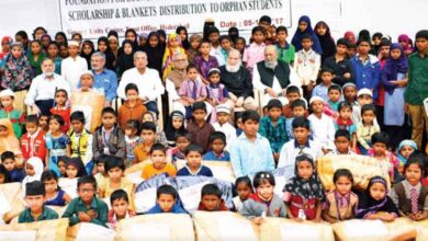 Hyderabad Zakat & Charitable Trust support for orphan students
