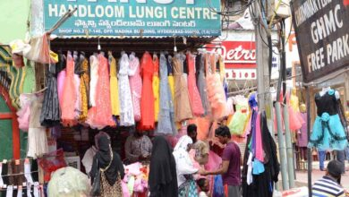 Photo of Hyderabad shops open up for business again