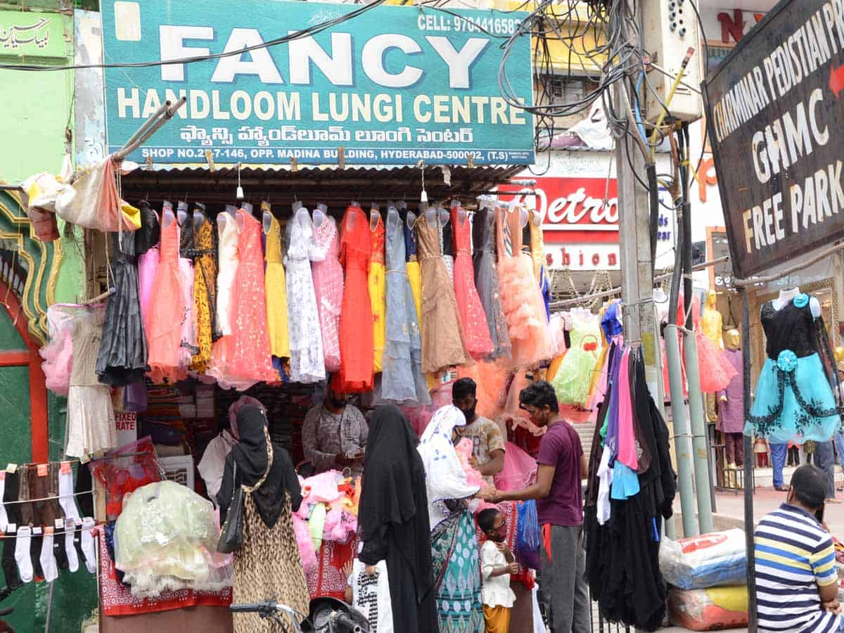 Hyderabad shops open up for business again