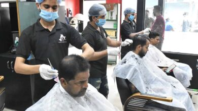 Photo of Salons open in Hyderabad after relaxation in lockdown rules