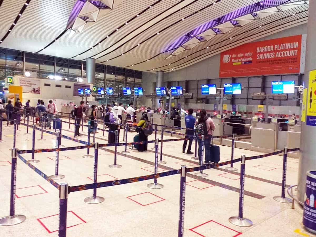 RGIA handles 2500 passengers as domestic services resume