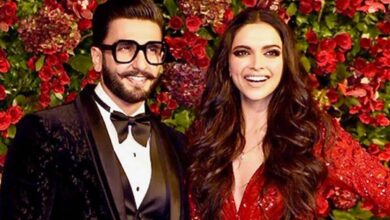Photo of Deepika saves hubby Ranveer's name as 'handsome' on phone