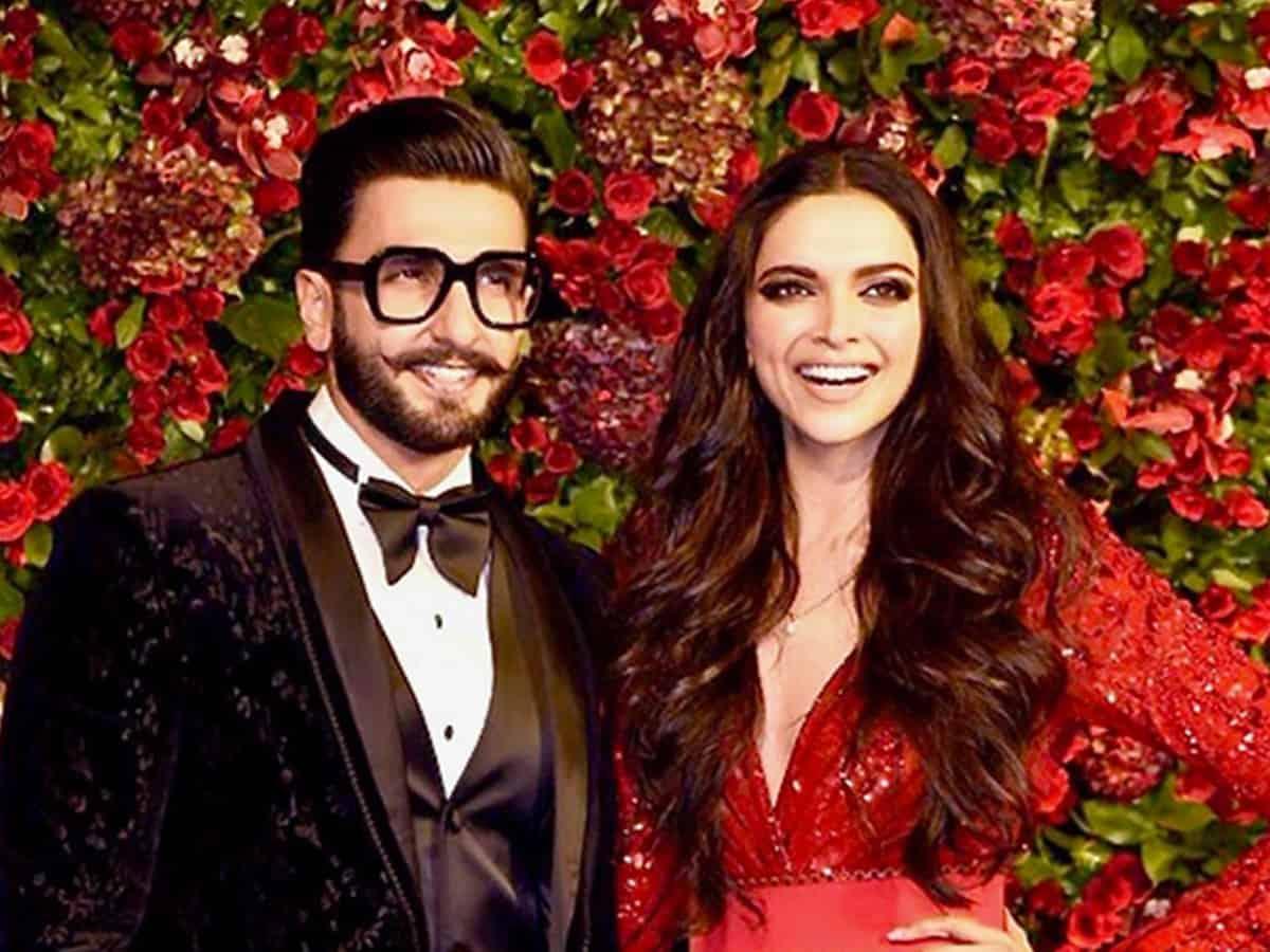 Deepika saves hubby Ranveer's name as 'handsome' on phone