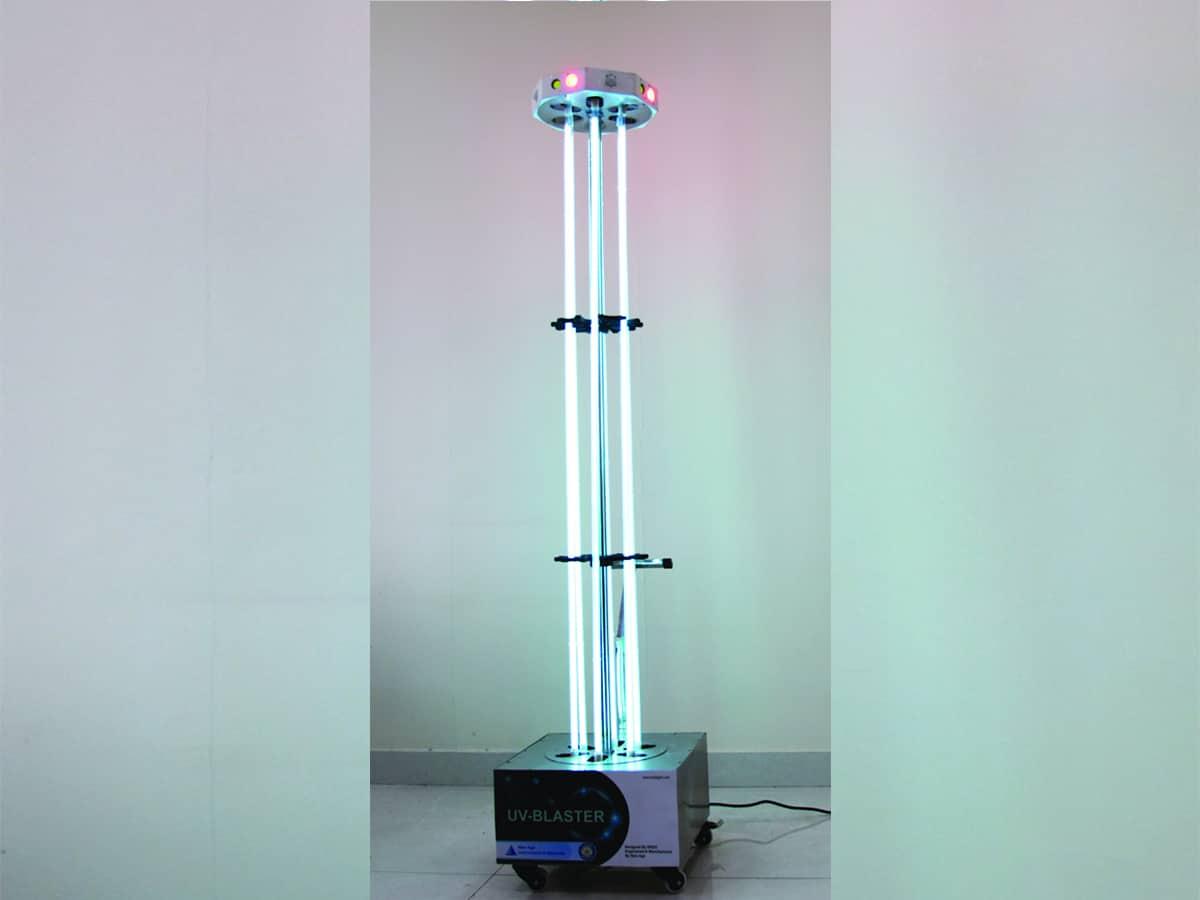 DRDO develops UV disinfection tower