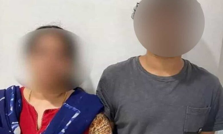 Mother,son arrested for cheating NRI to the tune of Rs 65 lakhs
