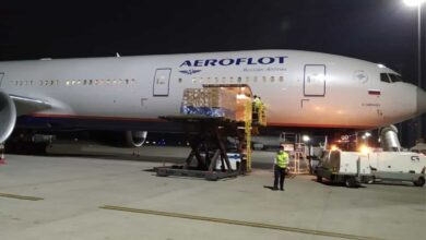 Photo of Lockdown: Hyderabad Airport handles first freighter from Russia