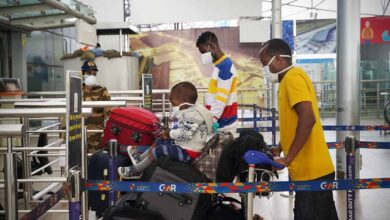 Photo of 32 Kenyan nationals repatriated by special flight from Hyderabad
