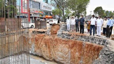 Photo of Mayor inspects SRDP works in Hyderabad