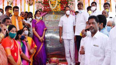 Photo of Sabita Indra Reddy inaugurates LB Nagar flyover