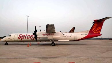 Photo of SpiceJet converts three Q400 passenger aircraft into freighters