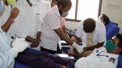 Photo of Tourism Minister inaugurates blood donation camp in Hyderabad