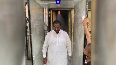 Photo of Hyderabadi develops apparatus for protection against corona