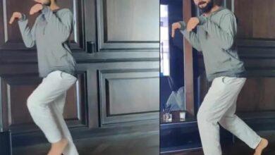 Photo of Anushka shares hilarious 'dinosaur' Kohli video on Instagram