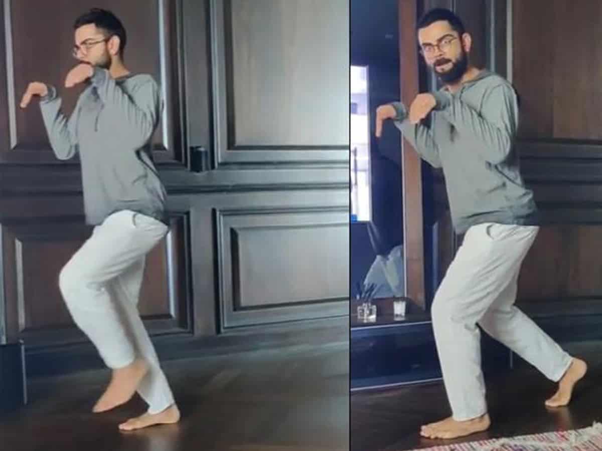 Anushka shares hilarious dinosaur Kohli video on Instagram