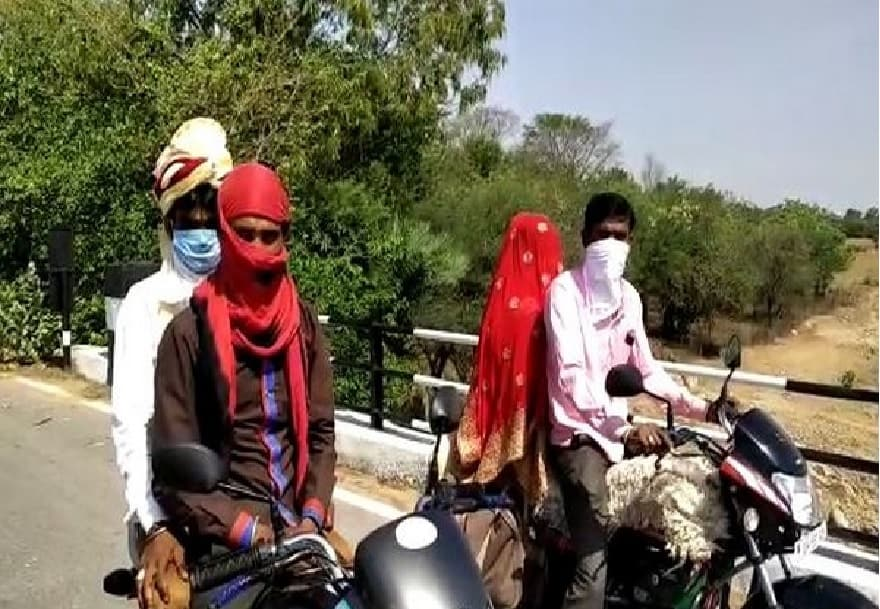 Groom goes from UP to MP on motorcycle to get married in lockdown