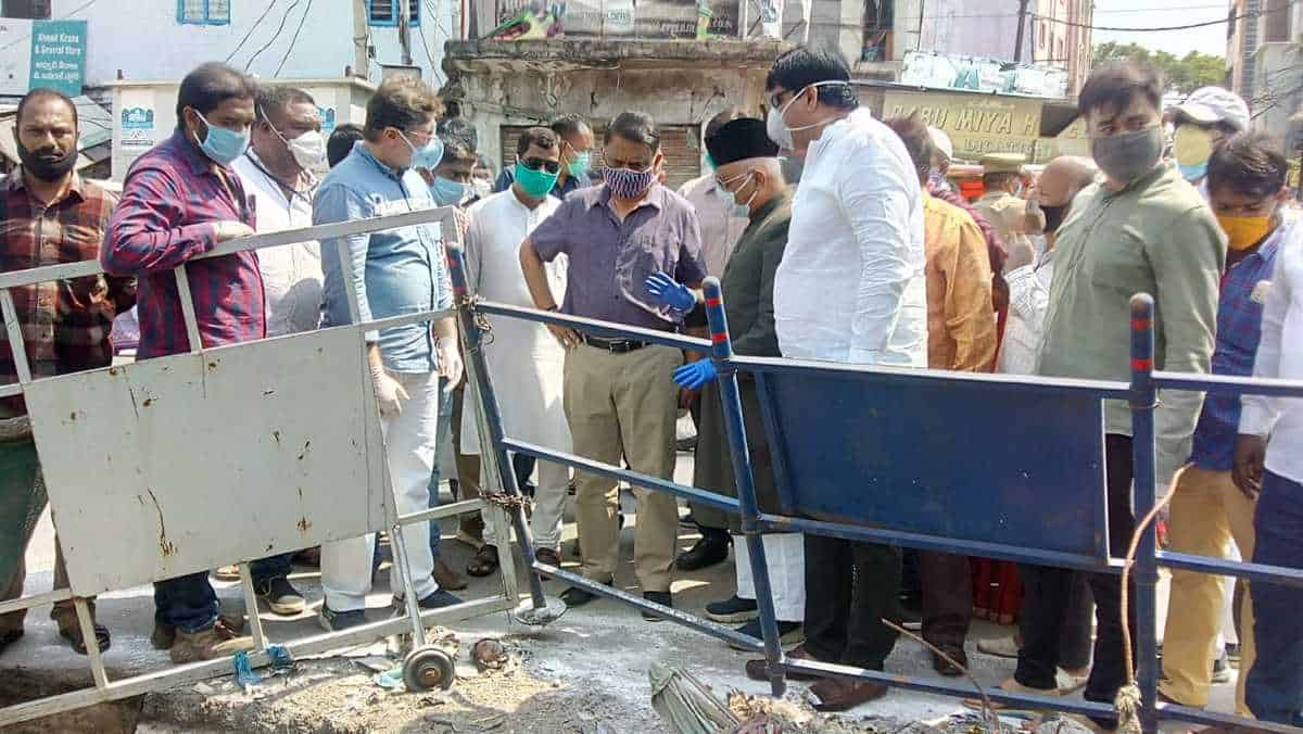Dabeerpura nala desilting works at brisk pace says Arvind Kumar