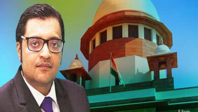 Photo of SC reserves order to transfer Arnab Goswami case to CBI