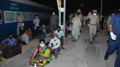 Photo of 6 special trains leave Hyderabad with workers to various states