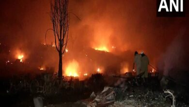 Photo of Major fire breaks out at slums in Delhi's Tughlakabad